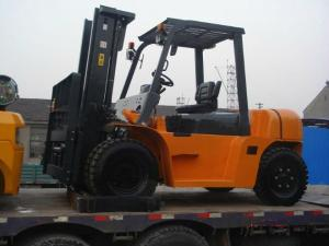 China CPCD60 6T Logistics Machinery With Diesel Operated wholesale