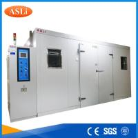 China Touch Screen Programmable Walk In Stability Chamber 3rd Party Calibrated SGS Stainless Steel wholesale