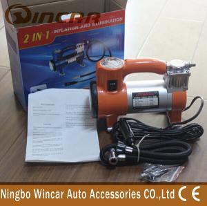 Quality 100 Psi 12V Portable Air Compressor pump / Super Mini Car Inflator Pump for sale