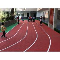 China Customized Outdoor Running Track Flooring Shock Absorber Colorful wholesale