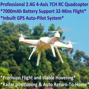 China 2.4G 7CH Headless Predator RC Quadcopter Drone 32-Mins Flight & Inbuilt GPS One-Key Return wholesale