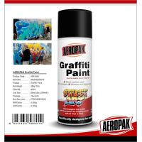 China Quick Drying 400ML Purple Montana Spray Paint , Chemical Graffiti Art Spray Can  wholesale