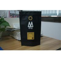 China Laminated Matte Black Tea Bags Packaging Aluminum Foil Coffee Bags wholesale