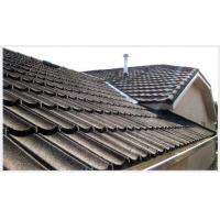 China Waterproof Classic Color Stone-coated Steel Roofing , Corrugated Metal Roof wholesale