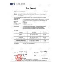 Dongguan Jingtu Prints CO.,LTD Certifications