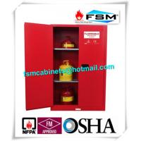China Explosion Proof Chemical Safety Storage Cabinets 45 Gallon For Industry Paint And Inks wholesale