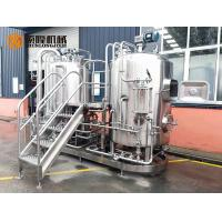 Buy cheap Semi Automatic Stainless Steel Beer Brewing Equipment , Micro Brewery Equipment from wholesalers