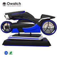 Quality 2019 Newest Design Amazing VR Racing Game Machine 9d VR Motorcycle for sale