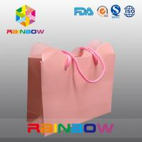 China Cardboard Hot Stamping High End Colorful Customized Paper Bags For Shopping wholesale