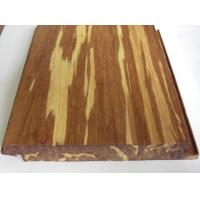 China Tigerwood Strand Woven Bamboo Flooring, Click lock wholesale