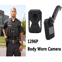 Buy cheap Mini Hd 1296p Video Audio Wearable Video Camera Recorder For Law Enforcement from wholesalers