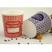 China Restaurant Take Away Paper Soup Cups With Lids Biodegradable Anti - Breakage wholesale