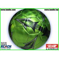 China Custom Printed PVC Soccer Balls Machine stitched Footballs Size 4 wholesale