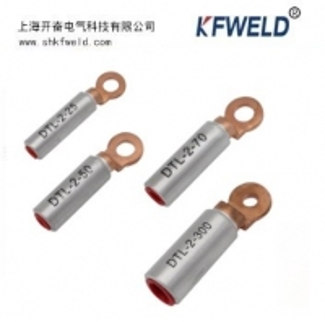 China DTL-2 Bimetallic Copper Aluminum Cable Lug, aluminium copper tubular terminals bimetallic cable lug for wire connection wholesale