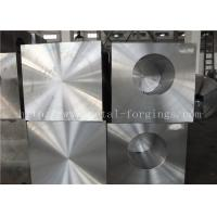 China ASTM A105 Carbons Steel Forged Block Normalized and Milled for Pressure vesel wholesale