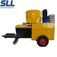 China High Efficiency Wall Cement Plaster Machine 380V / 7.5kW 12 Months Guarantee wholesale
