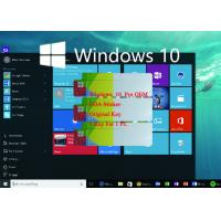 Buy cheap Microsoft Operating System COA License Sticker / Windows 10 Pro OEM 100% from wholesalers