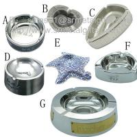 China Custom made designer metal cigarette ashtrays for collecting cigar ashes, on sale