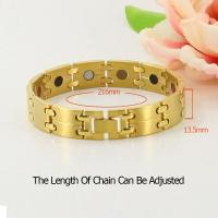 China Brazilian material titanium free negative ion germanium bracelet wholesale