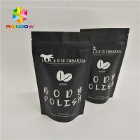 China Resealable Foil Pouch Packaging Stand Up Body Sugar Scrub Sea Salt Bags Heat Seal wholesale