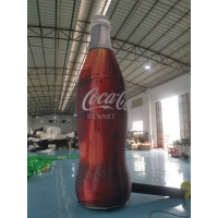 China ASTM 4m Tall Advertising Inflatable Coca Cola Bottle wholesale