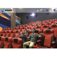 China Electrical / Hydraulic4D Movie Theater Equipment For Action Movies 4 seats - 100 seats wholesale