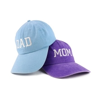 China Blue Curve Brim MOM Dad Baseball Cap Character Style wholesale