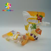 China Eco - Friendly Stand Up Spout Pouch Plastic Pouches Packaging With Ziplock wholesale