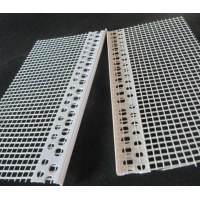 China White color PVC corner bead with high quality fiberglass net used for wall corner wholesale