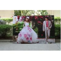 China OK3D wholesale 3d lenticular printing wedding photos-customized 3d lenticular wedding photo with depth 3d moving effects wholesale