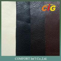 China Flame Retardant PU Synthetic Leather for Sofa and Chairs / Upholstery wholesale