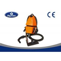 China Battery Powered Backpack Vacuum Cleaner For Supermarket  / Hotel Yellow Color wholesale
