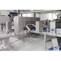 Quality Industrial Puff Pastry Production Line With Auto Fat / Butter Feeding Pump for sale