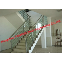 China Galvanized Steel 900mm Metal Handrails For Indoor Stairs wholesale