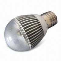 China LED Bulb Light with 5W Power Consumption and E27 Lamp Cap wholesale