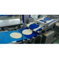 China Industrial Frozen Pizza Manufacturing Equipment Minimum Dough Thickness 2.5 Mm For Frozen Pizza Base wholesale