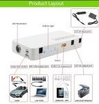 lipo battery 12000mah 12V portable jump start auto mobile charger power bank