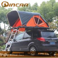 China Two Person Soft Roof Top Tent , Overland SUV Pop Up Roof Top Camper wholesale
