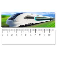 China 5.4x31cm High - Speed Train 3D Lenticular Ruler PET Material For Student Stationery wholesale