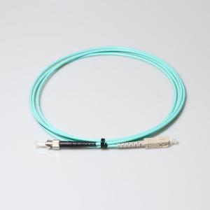 China SC-ST OM3 Simplex 2m Optical Fiber Patch Cord wholesale