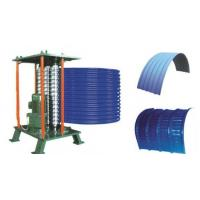 China Roof Steel Tile Roll Bending Machine Automatic Curving Radius 500mm wholesale
