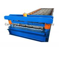 China Aluminum IBR Roofing Sheet Roll Forming Machine Colored Steel Tile Type on sale