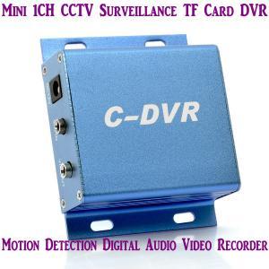 China Mini C-DVR 1CH CCTV Surveillance TF Card DVR Digital Audio Video Recorder Motion Detection wholesale