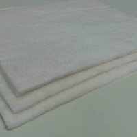 China White color 8mm thickness fiberglass needle mat used for filter wholesale
