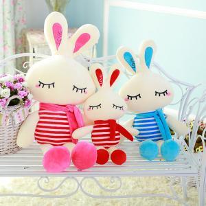 China LOVE Rabbit plush toys Valentine's Day creative gift cartoon toys wholesale