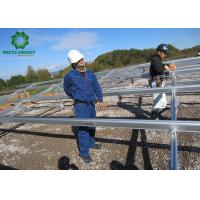 Buy cheap Foldable Structure Ground Mount Solar Racking Systems Supporting And Fixing from wholesalers