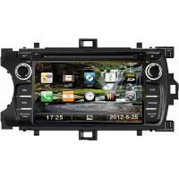 China 7 Inch Digital Toyota DVD GPS Car Radio , Fully Touch Screen Car DVD Player TYT-7848GD wholesale