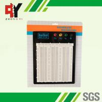 China Simple Electronics Projects On Breadboard Prototyping 18.3×16.5×0.85 cm wholesale