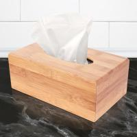 China hot selling bamboo tissue paper box with cover for high quality and factory price wholesale