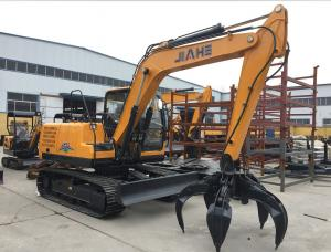 China JH65 6 Ton Mini Excavator With 0.21m3 Bucket Capacity , ISO Crawler Excavator wholesale